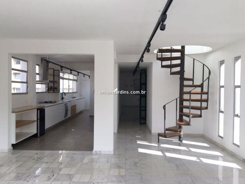Cobertura Duplex Jardim América 3 dormitorios 4 banheiros 2 vagas na garagem