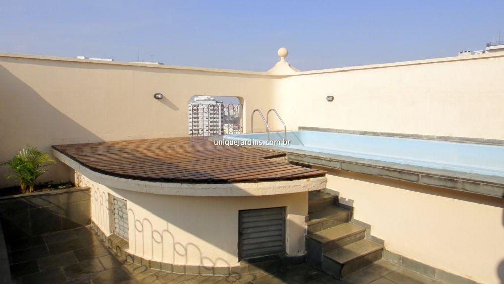 Cobertura Duplex aluguel Paraíso - Referência AP87298