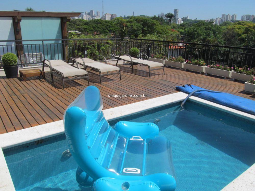 Cobertura Duplex aluguel Alto de Pinheiros - Referência AP88276